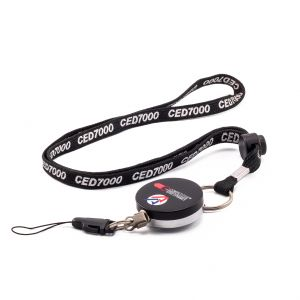 CED 7000 Retractable Lanyard Set