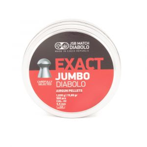 JSB Exact Jumbo Diablo Pellets - 22 Call 15.89gr Domed [500]