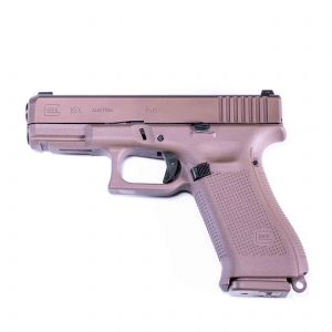 Glock 19X Compact Pistol - 9mm (FDE)