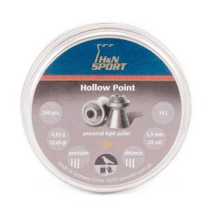H&N Sport Precision Pellets - 22 / 5.5mm HP [200]