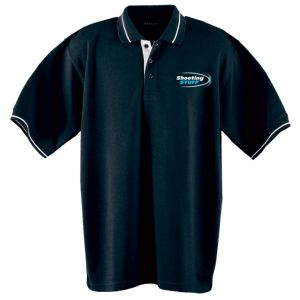 Shooting Stuff Golf Shirt - XXXL (Blue)